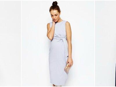 Vestidos de invitada perfectos para embarazadas con mucho estilo. ¡Toma nota!