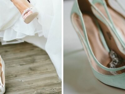 Der perfekte Brautschuh: Wie er sein soll und wie Bräute ihn erst dazu machen …