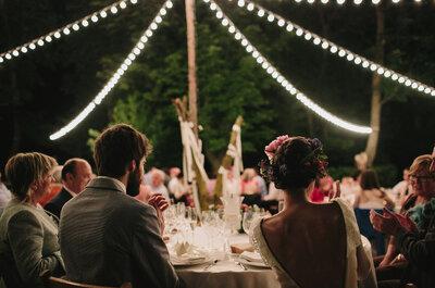 Innovación, calidad y frescura: el no va más en banquetes para bodas creativas