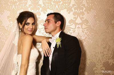 Real Wedding: Glamour, estilo y rosas blancas en la boda veracruzana de Rossana y Edgar