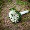 Ramo de novia de flores blancas. Foto: Chema Naranjo