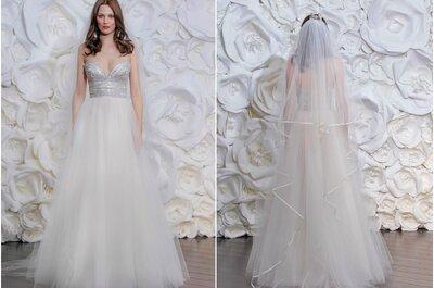 Vestidos de novia de Naeem Khan 2015: el estilo chic invernal