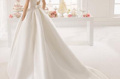 ¡Pon lazos en tu look de novia! Los vestidos más chic del 2015