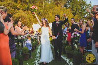Karina & Rafael: casamento Boho Chic em São Paulo é puro charme!