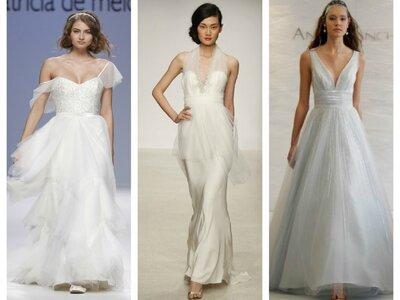 Brautkleider mit Ausschnitt - Die schönsten Modelle aus den Kollektionen von 2013