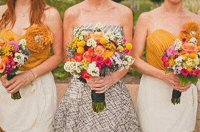 Descubre 5 tendencias en ramos de novia para 2016, ¡triunfarás!