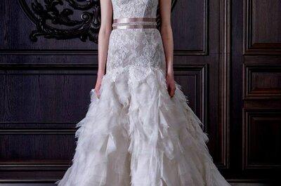 5 vestidos de novia para 5 tipos de cuerpo diferentes... ¿Cuál es tu modelo ideal?