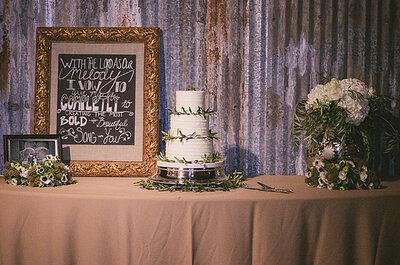Original inspiración para una boda estilo romano antiguo