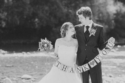 5 Dinge, die Brautpaaren bei der Hochzeit nicht erspart bleiben!