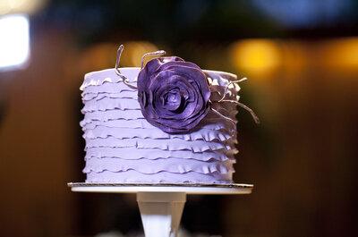 Decoración de boda en color púrpura: Un toque de realeza y majestad en tu gran día