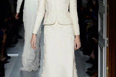 Vestidos de novia 2013 para boda civil de Valentino