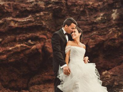 Naturaleza salvaje: la boda de Susana y Ángel