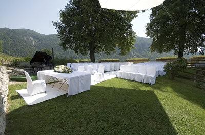 Sehen Sie hier die schönsten Hochzeitslocations in der Nähe von Kufstein!