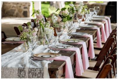 Real Wedding: Increíble boda estilo shabby chic con detalles elegantes