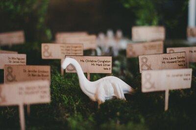 Un matrimonio tematico..con i dinosauri!