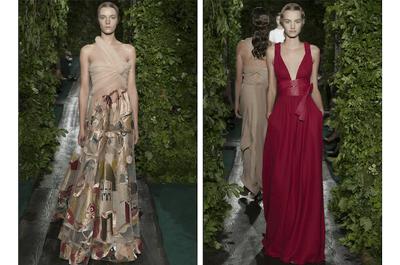 Fantasía arqueológica con tintes victorianos: Colección alta costura otoño 2014 de Valentino
