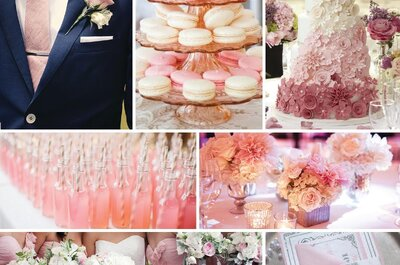 Blush Pink: El color más romántico para una boda llena de magia... ¡Descúbrelo!