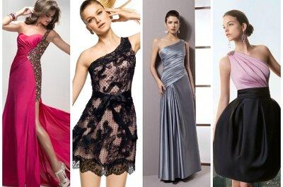 Selezione di abiti monospalla 2013 per invitate a nozze
