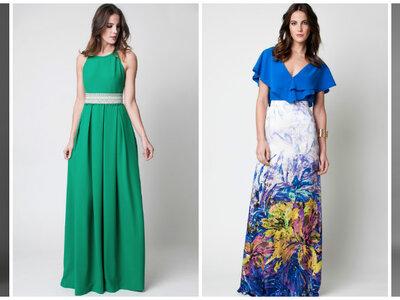 ¿Invitada a una boda de tarde? 50 vestidos largos perfectos