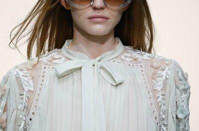 Milan Fashion Week SS2015: la sposa anticonvenzionale, boho e ribelle di Roberto Cavalli