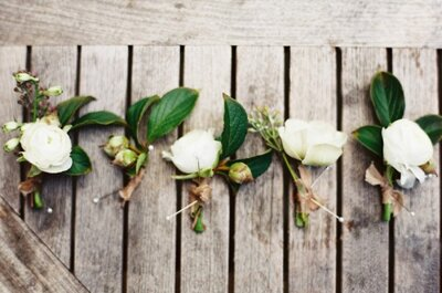 A fashion statement for him: The best boutonnieres for the groom