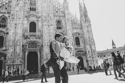 Cronaca di un amore: Kristina e Leonid nella bella Milano