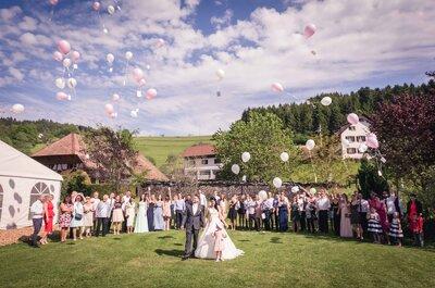 Rundum gelungene Hochzeit in Baden-Württemberg – Tanja & Matze gaben sich im Sommer 2016 das Ja-Wort