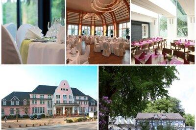 Heiraten im Kasino Hotel oder mitten in der Natur? Rund um Leverkusen geht Beides.