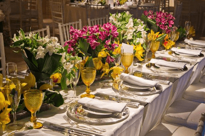 As melhores tendências em decoração de casamento para 2015
