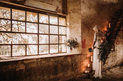 ¿Cómo hacer una boda industrial? 5 detalles que debes tener en cuenta