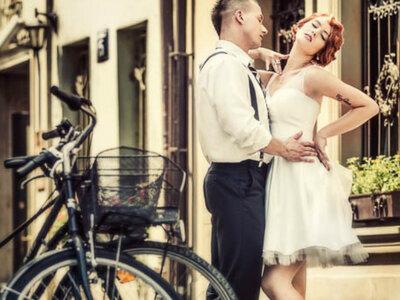 Do ślubu na dwóch kółkach, czyli rower jako motyw przewodni.