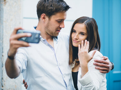 Engagement Etiquette: How to announce you said