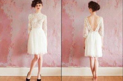 10 fotos de vestidos de noiva de costas decotadas: inspire-se!