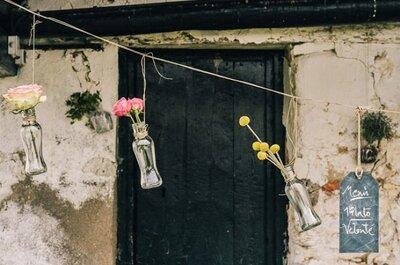 Una boda con tendencia handmade: Diseña el mejor día de tu vida ¡con tus propias manos!