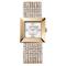 Para quienes prefieren la elegancia, un reloj de corte clásico como este - Swarovski