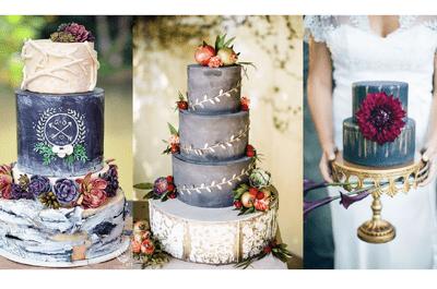 Chalkboard Cake: Incorpora el efecto pizarrón en tu pastel de boda