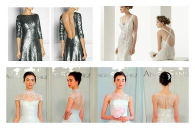 Os mais espectaculares vestidos com decote nas costas