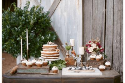 El top exquisito: Una selección con los mejores pasteles de boda con estilo rústico