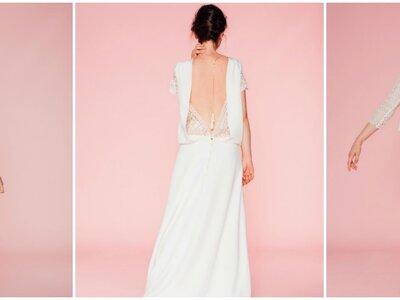 Collection Les Mariées Fox 2017 : des robes de mariée au style glam' rock !