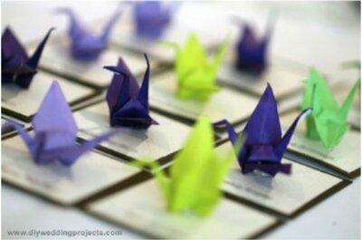 Origami - Les p'tits papiers tendance 2013