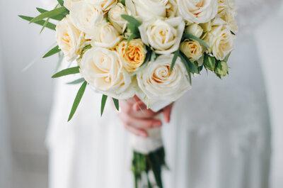 Flores para tu boda: ramos de novia y decoración