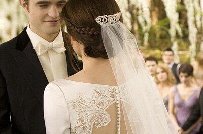 Die Brautfrisur von Bella Swan aus Twilight zum Nachstylen - Heiraten wie im Film