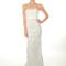Vestido de novia 2013 largo, con detalle en el escote