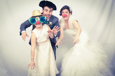 Photocall: Las imágenes más divertidas de tu boda