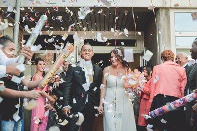La danse, la fête et l'amour... Découvrez le joli mariage de Laure et Cédric