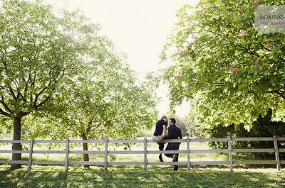 Sessão de noivado: Diana e Nuno nos Jardins de Serralves, no Porto