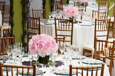 Detalles florales para ambientar tu matrimonio