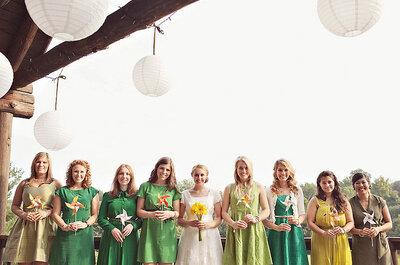 5 consejos para elegir los ramos de las damas de honor