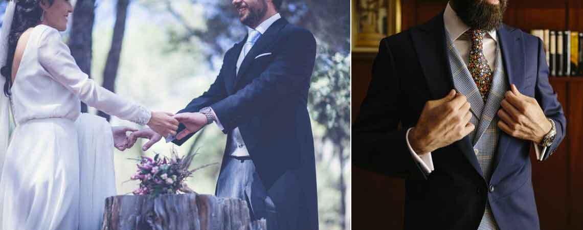 Hoe kies je de look voor de bruidegom? Een pak, accessoires en details met stijl!