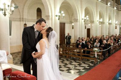 ¿Cómo hacer la entrada y la salida en la iglesia? Ideas para tu matrimonio